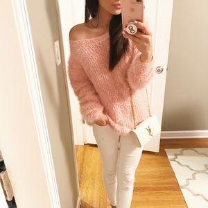 Chloe Blush Cozy Sweater