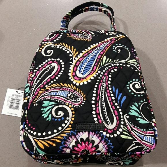f2d4a0789a17 Vera Bradley Bandana Swirl Lunch Bunch Bag NWT