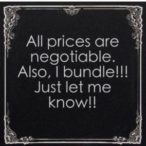 Other - All prices are negotiable🙂