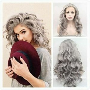 Gray Beauty LaceFront Wig