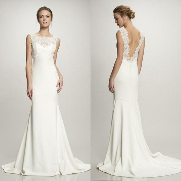 Theia Dresses Wedding Dress Poshmark