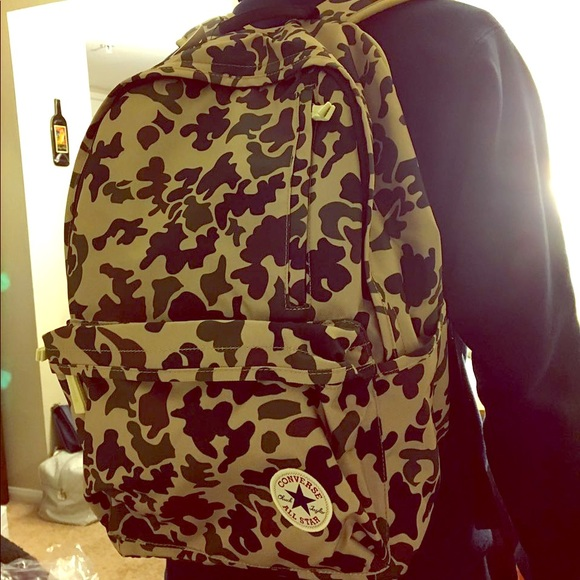 a2541de28c75 Handbags - Brand new with tag converse camouflage backpack