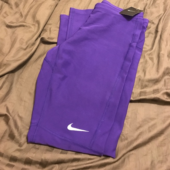 Men's Nike Dri-Fit Running Leggings ✨✨ Purple