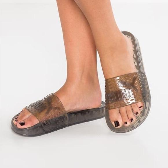 ebe5342875b017 Puma Fenty Rihanna Jelly Sandals 9.5. M 59856fd3bcd4a7cb3501a3f9