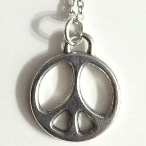 Jewelry - Peace sign necklace (and more)