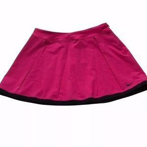 New Nike Dri-Fit Skirt Size Medium Pink Tennis