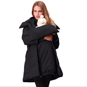 Jackets & Blazers - Pre & post Maternity down winter coat M