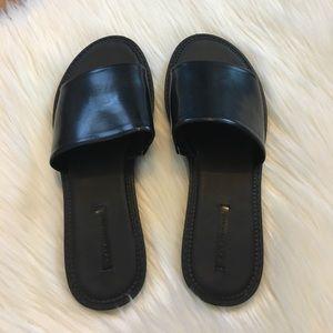 Zara Trafaluc Slides - Size 7 - NWOT