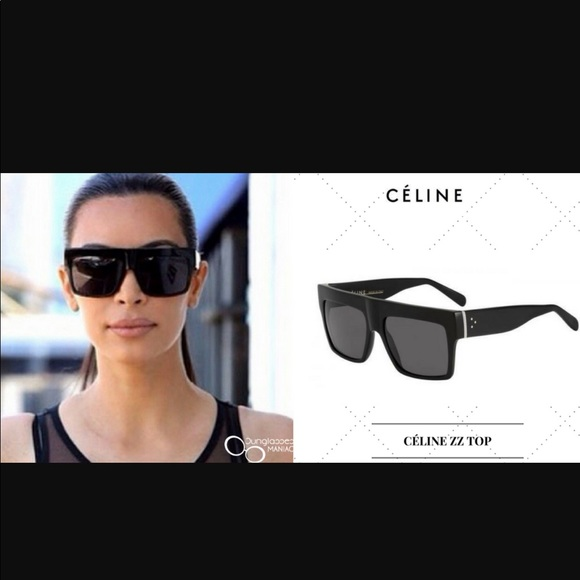 aa00dd2beb9f Celine Accessories - Celine ZZ Top CL 41756 black sunglasses