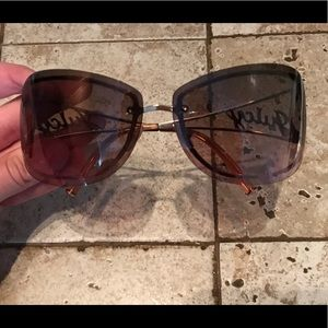 Brown and Gold Juicy Couture Sunnies