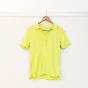 EP Pro Lime Golf T Shirt NWT