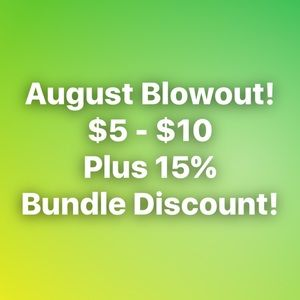 Other - SHARE THIS POST! Blowout SALE! Plus 15% Discount