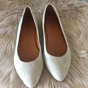 Madewell Suede Flat Shoes