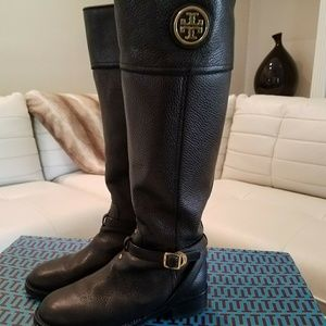 Authentic Tory Burch leather riding Boots, size 7!
