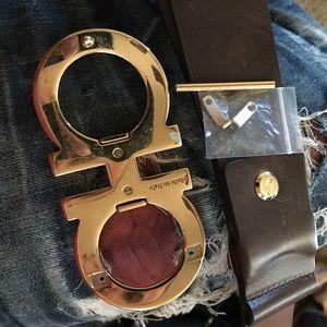 Other - Ferragamo big buckle belt.