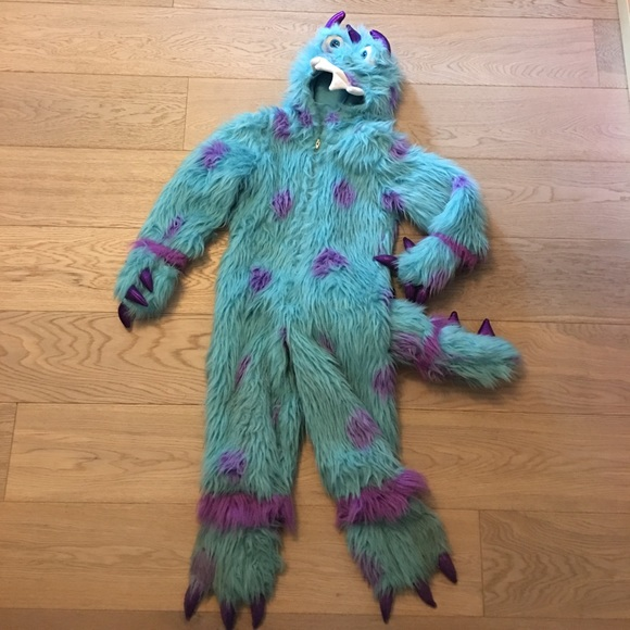 princess paradise costumes kids sully from monsters inc costume