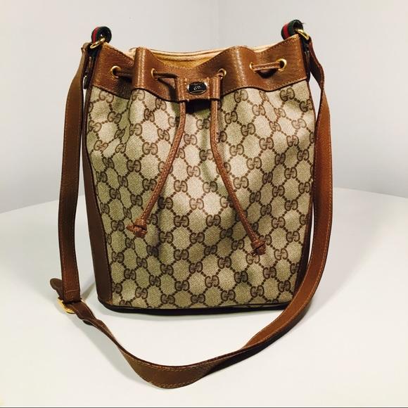 311824861b50 Gucci Handbags - Vintage GUCCI Bucket Bag