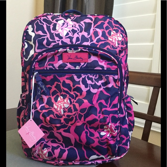 eb44db9e8fde NWT VERA BRADLEY LIGHTEN UP CAMPUS BACKPACK