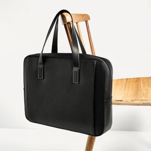 ... designer fashion ac6d7 0a9fb Zara Bags Mens Laptop Bag Poshmark ... ddd39af225