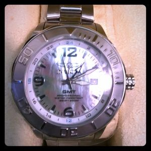 BRAND NWT INVICTA ®GMT STAINLESS STEEL SWISS MADE