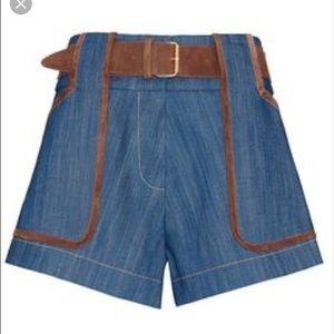 In search of Derek Lam denim shorts