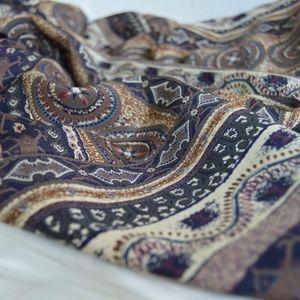 Vintage Tops - Vintage Short Sleeve Tribal Print Duster