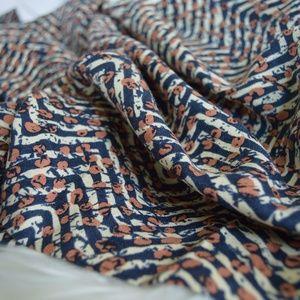 Vintage Tops - 💗Vintage Long Sleeve 100% Silk Duster