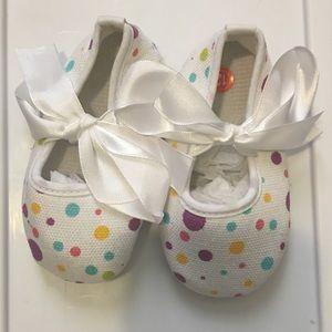 Other - Polka Dot Infant Flats