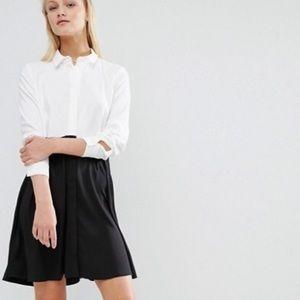 ASOS Color Block Shirt Dress