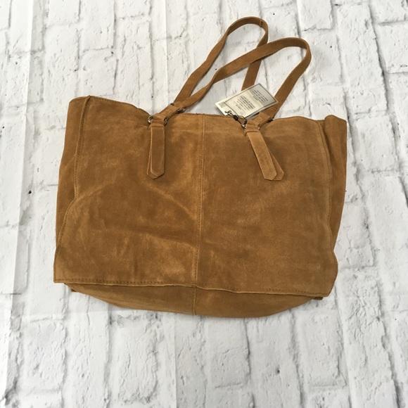 949d20ca22e Zara Trafaluc suede shopper bag - NWT. M_59860eaeb4188eea50031509