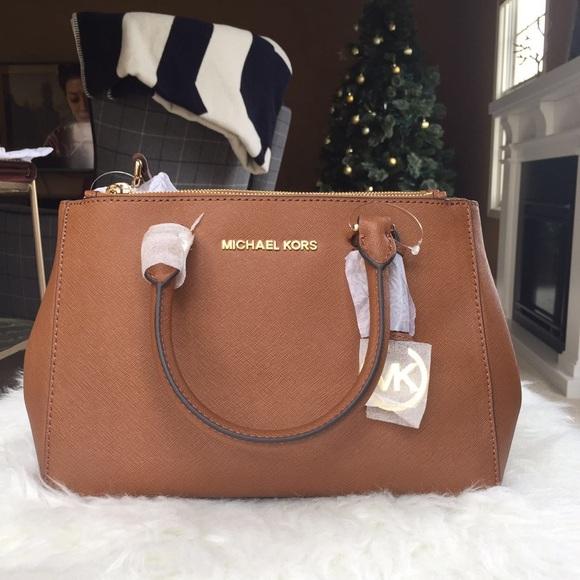 7fdc78a1ec2c Michael Kors Bags | Sutton Small Saffiano Leather Satchel | Poshmark