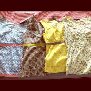 4 Sleeveless Boden Cotton Tops