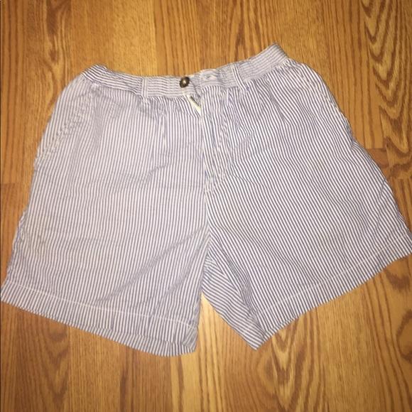 ede56c9cb0 chubbies Shorts   Off Brand Seersucker Blue   Poshmark