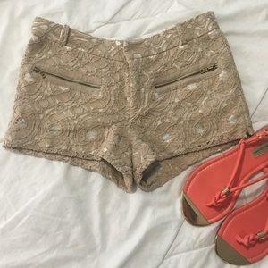 Rachel Roy lace shorts