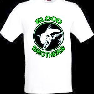 Blood brothers fishing shirt