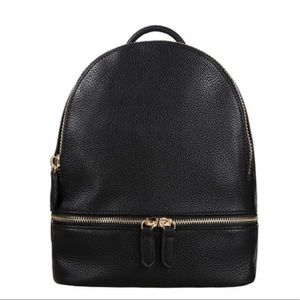 Handbags - Mini Vegan Leather Contemporary Backpack