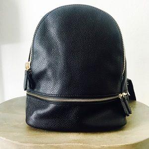 Handbags - Mini Vegan Leather Contemporary Backpack