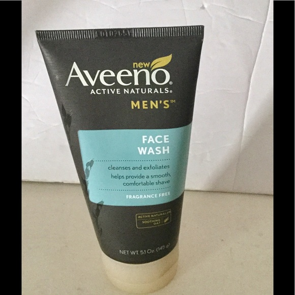 aveeno mens face wash