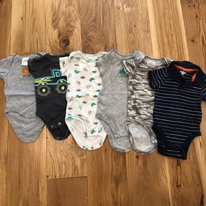 Other - Six 3-6 mo onesies