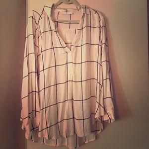 Awesome drapey blouse