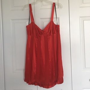 Red Bebe Party Dress Size M