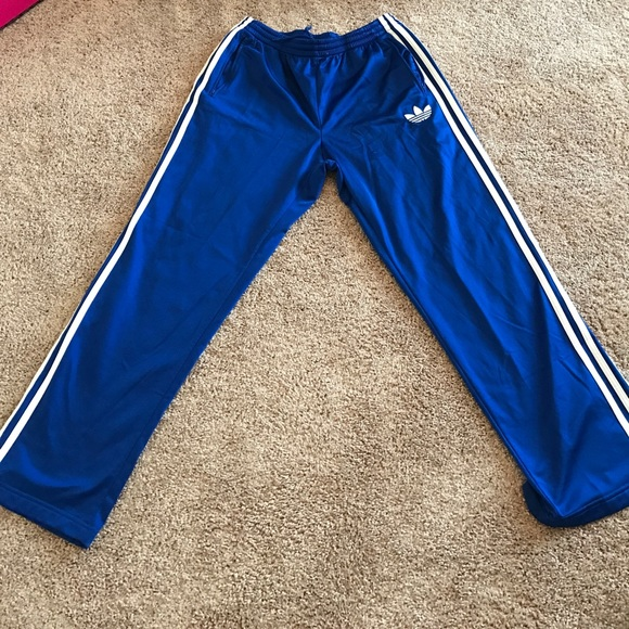 orientación podar Galleta  adidas Pants | Authentic Royal Blue Men Track | Poshmark