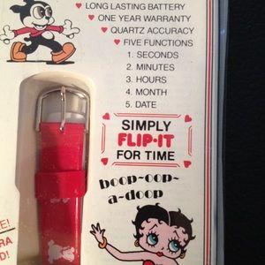 Accessories - Betty Boop quartz watch New in box