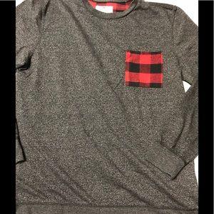 Long Sleeved Pocket T-shirt. Pacsun