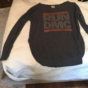 Junk Food RUN DMC Long sleeve tee