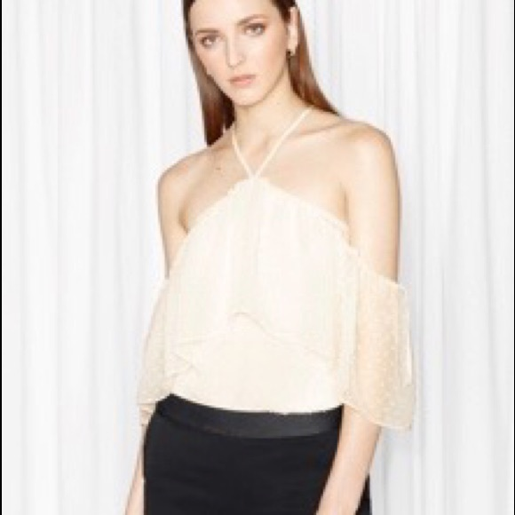 c39d7716959f2 Other Stories Tops -   Other Stories Off-Shoulder Ruffled Blouse NWOT
