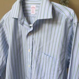 Brooks Brothers 346 Men's Striped Dress Shirt
