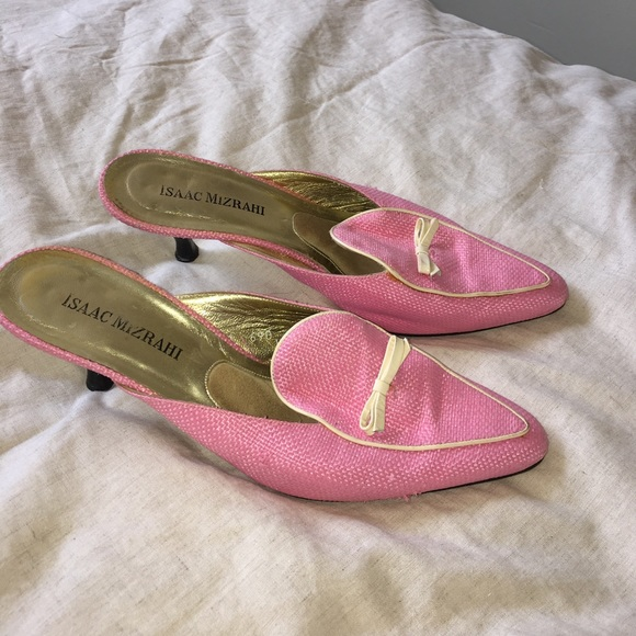 J. Crew Shoes - 🎂 Isaac Mizrahi Pink Marie Anoinette Shoes 🎂