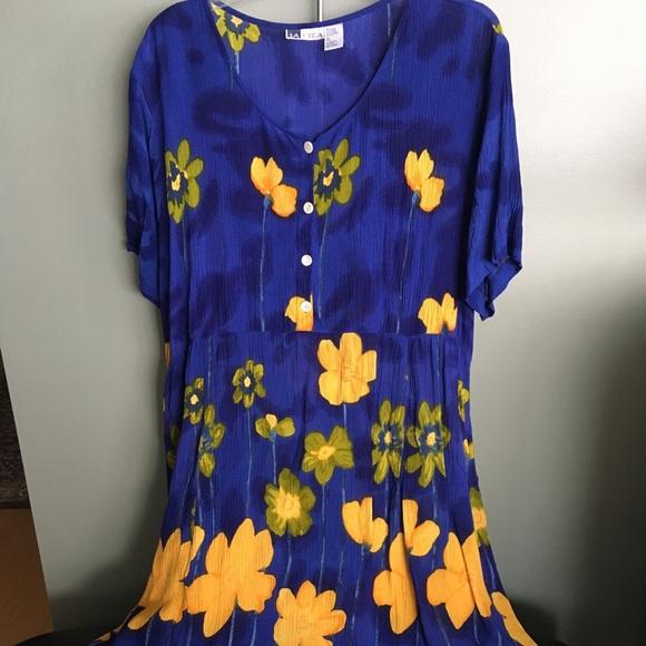 La Cera Dresses Plus Size Flowing Dress Poshmark