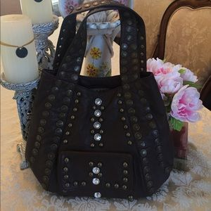 Handbags - Dark brown boho bag